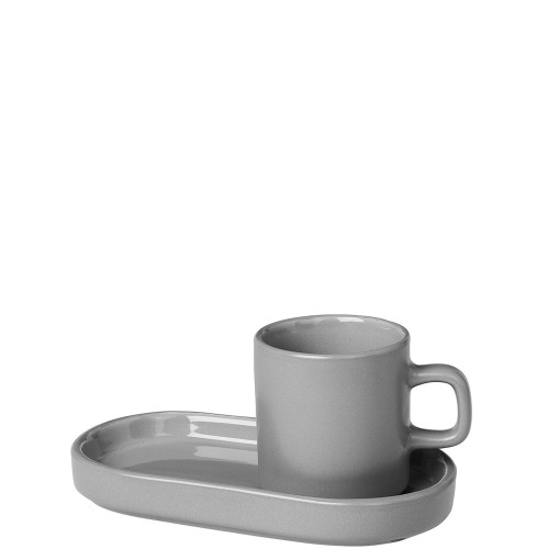 Blomus Mio Mirage Grey zestaw 2 filiżanek do espresso