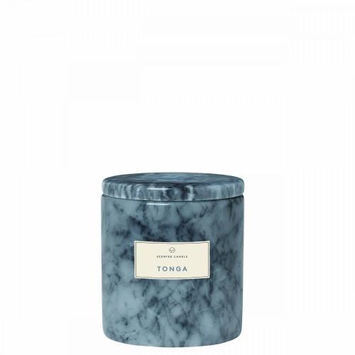 Blomus Frable Tonga Sharkskin Marmurowa świeca zapachowa