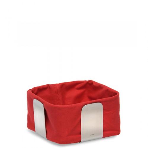 Blomus Desa koszyk na pieczywo, czerwony