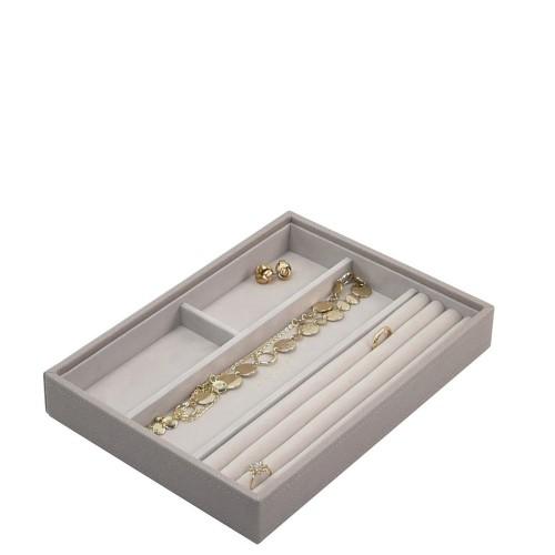 Stackers Classic 4 komorowe pudełko na biżuterię