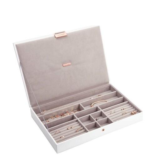 Stackers Supersize Pudełko na biżuterię z pokrywką, edycja Rose Gold