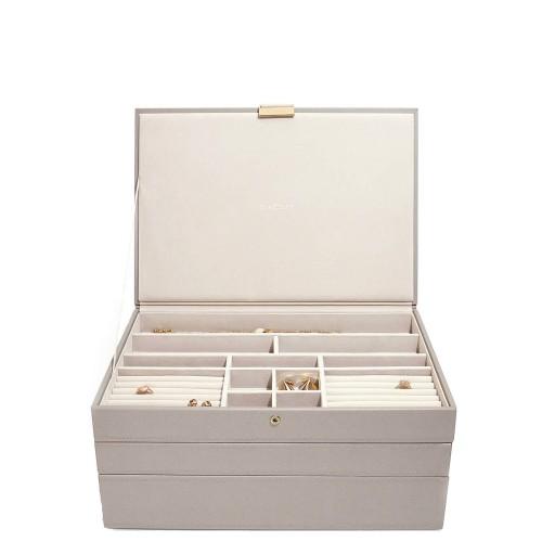Stackers Supersize Potrójne pudełko na biżuterię