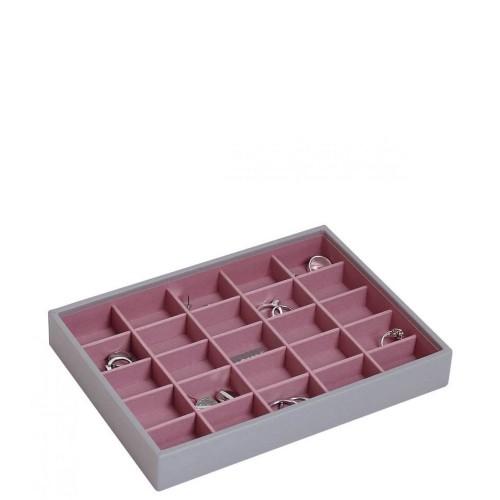 Stackers Classic 25 komorowe pudełko na biżuterię