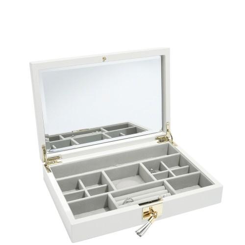 Stackers Loves Luxury Pudełko na biżuterię z pokrywką i lusterkiem