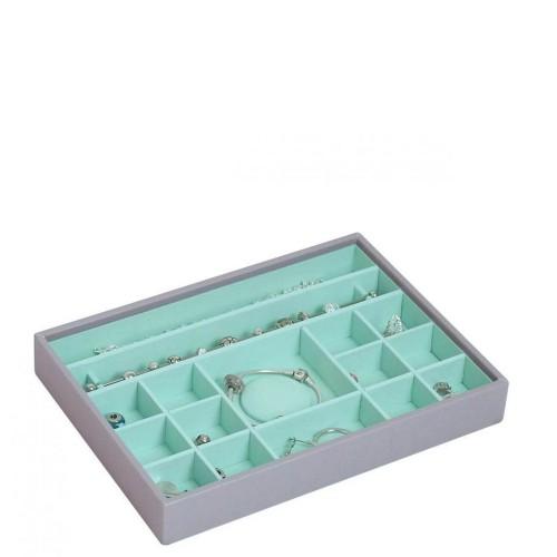 Stackers Classic 16 komorowe pudełko na biżuterię