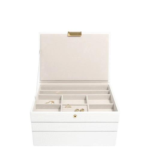 Stackers Classic Croc Potrójne pudełko na biżuterię
