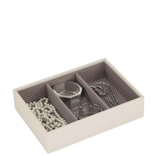 Stackers Classic 3 komorowe pudełko na biżuterię