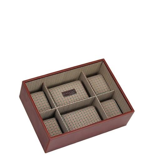 Stackers Stackers Pudełko na zegarki 6 komorowe
