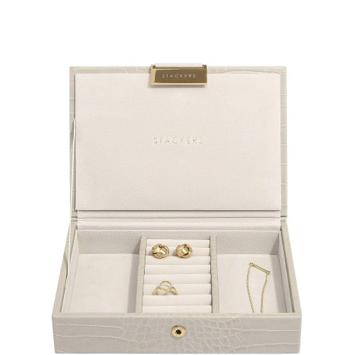 Stackers Croc Szkatułka na biżuterię mini z pokrywką