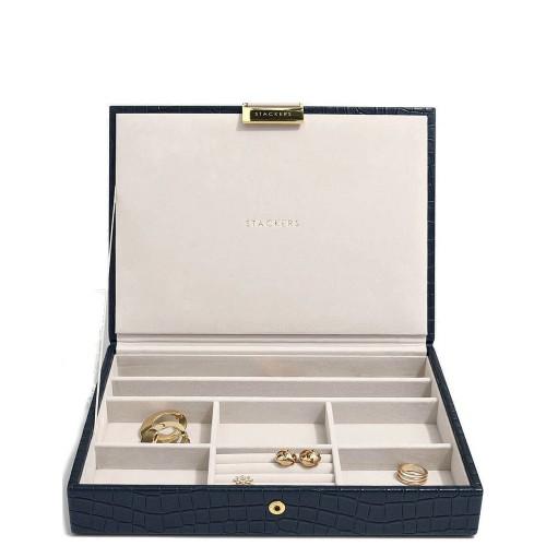 Stackers Croc Classic Szkatułka na biżuterię z pokrywką