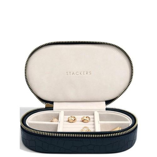 Stackers Croc Travel Pudełko na biżuterię podróżne