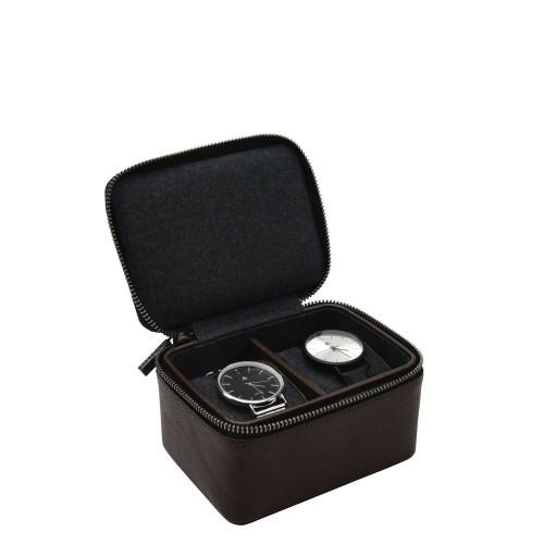 Stackers Stackers Pudełko na zegarki podróżne dwukomorowe
