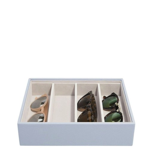 Stackers Classic 4 komorowe pudełko na okulary