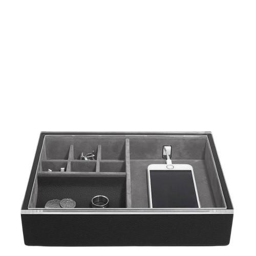 Stackers Pebble Classic Pudełko na biżuterię i telefon z pokrywką