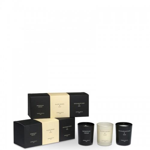 CERERIA MOLLA Boutique Zestaw 3 małych świec zapachowych