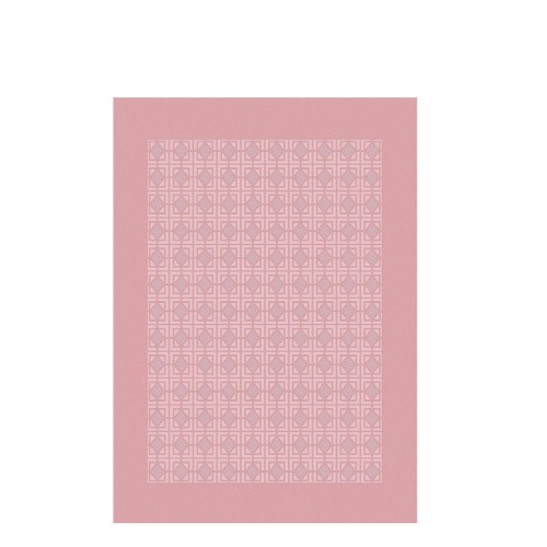 GARNIER THIEBAUT PARIS ARCHITECTURE ROSE POUDRE ręcznik kuchenny