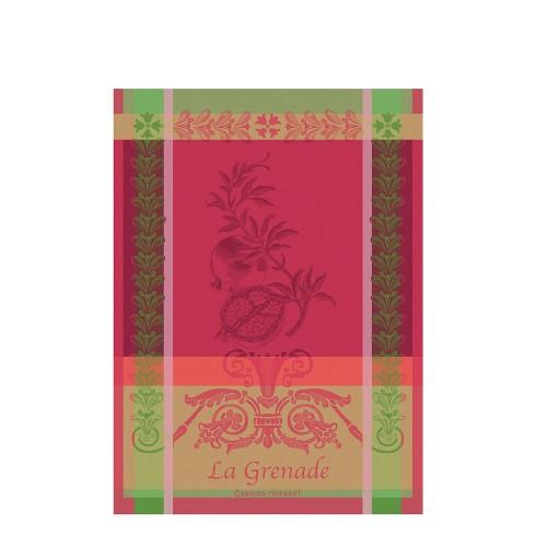 GARNIER THIEBAUT GRENADE ROSE ręcznik kuchenny