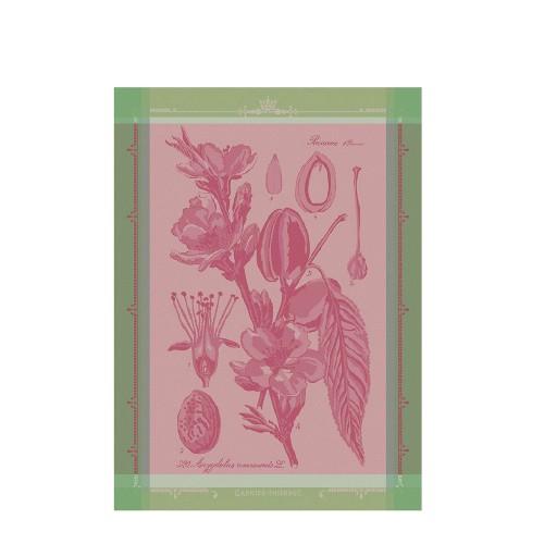 GARNIER THIEBAUT FLEURS D AMANDIER ROSE ręcznik kuchenny