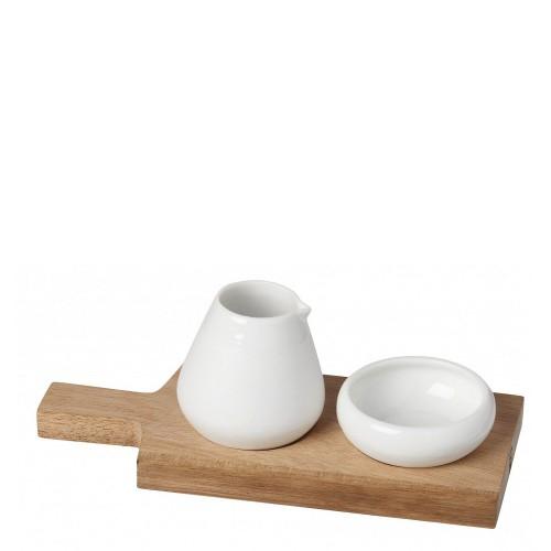 Raeder Raeder Zestaw na oliwę i sól z deską