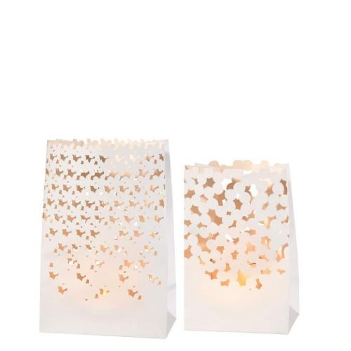 Raeder Flowers & Dots Zestaw 2 papierowych lampionów