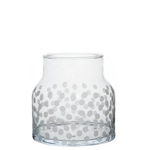 Raeder Kropki Wazon szklany