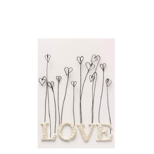 Raeder Love Hearts Elements Kartka