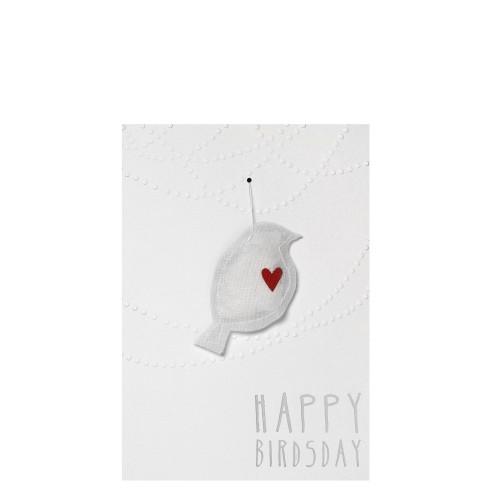 Raeder Happy Birds- day Kartka