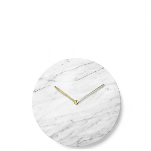 Menu Marble zegar ścienny