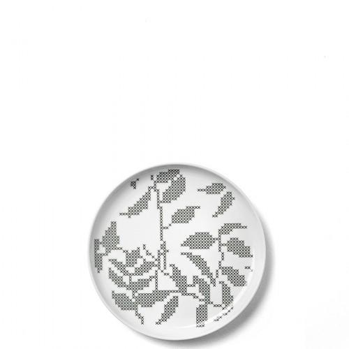 Menu Grey Leaves talerz S