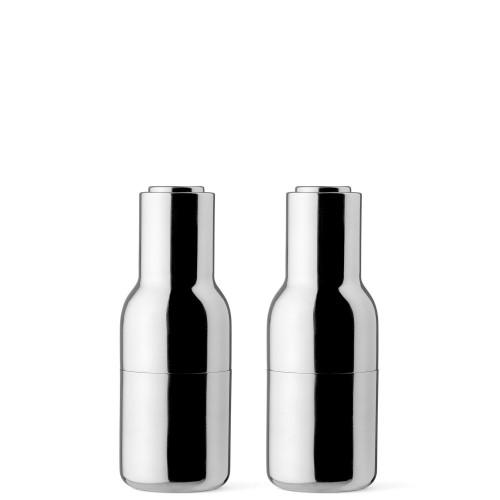Menu Bottle Grinder Zestaw młynków do soli i pieprzu, stal polerowana