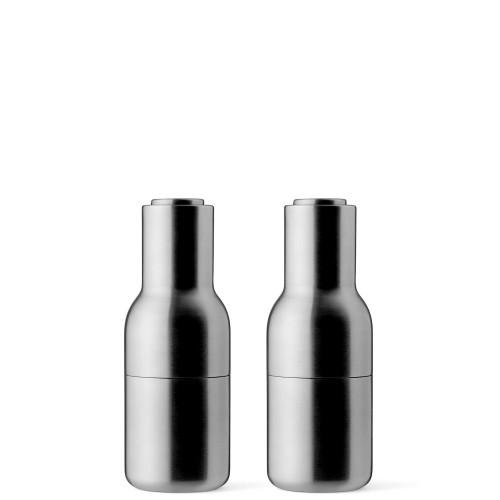 Menu Bottle Grinder Zestaw młynków do soli i pieprzu, stal szczotkowana