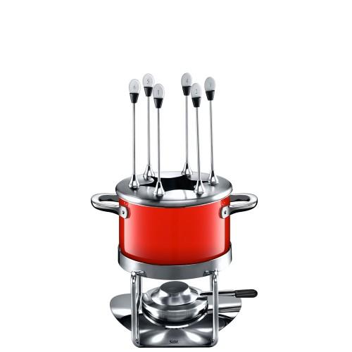 Silit Energy Red Zestaw do fondue dla 6 osób