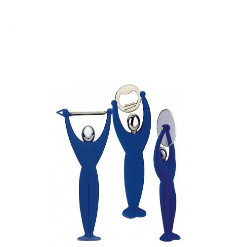Casa Bugatti GYM zestaw 3 przyborów, kolor niebieski