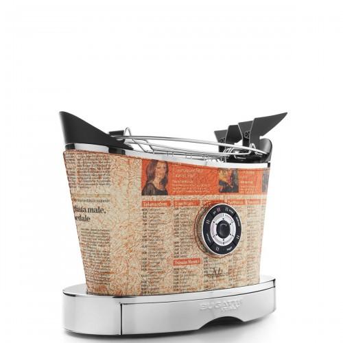 Casa Bugatti Volo Individual Newspaper toster, skórzany