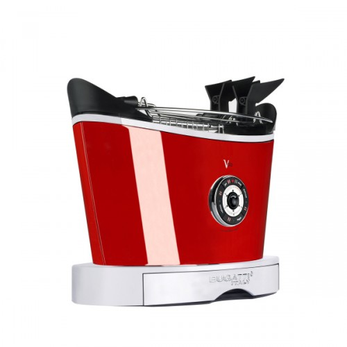 Casa Bugatti Volo toster, czerwony
