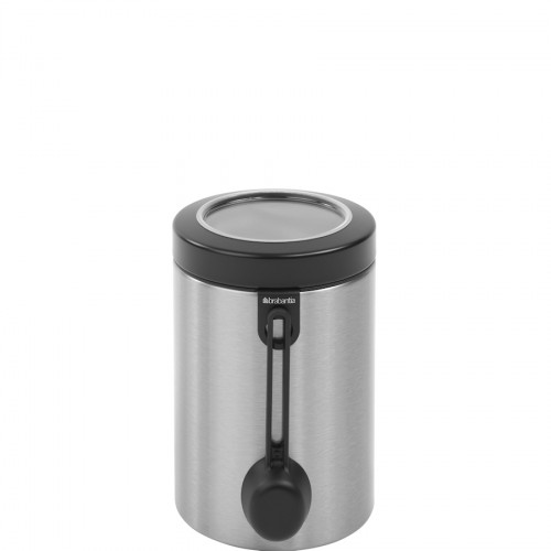 Brabantia Storage pojemnik z okienkiem i miarką, stal matowa FPP