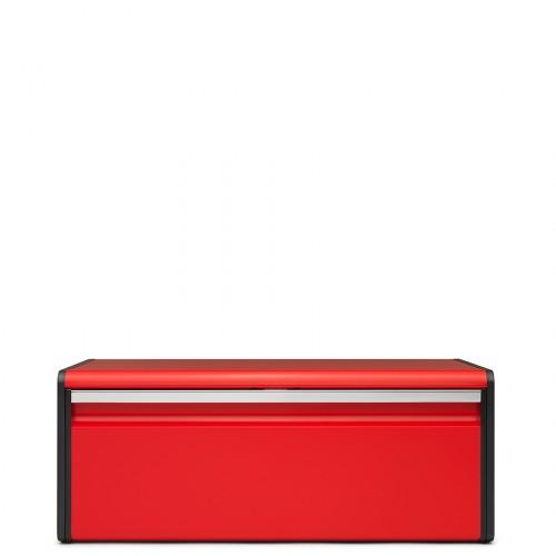 Brabantia Bread Bin pojemnik na pieczywo, Passion czerwony
