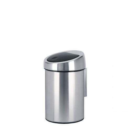 Brabantia Touch Bin Matt Steel kosz na śmieci