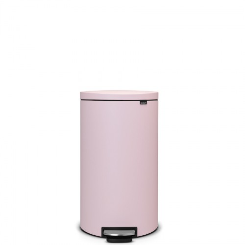 Brabantia FlatBack Mineral Pink kosz na śmieci pedałowy