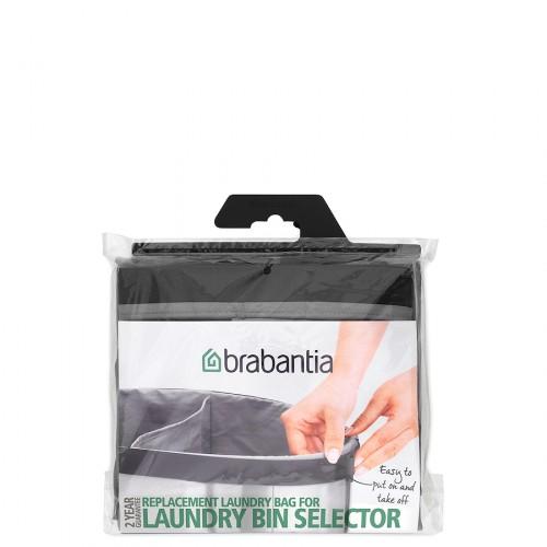 Brabantia SElector wymienny worek do kosza na pranie, 2 komory