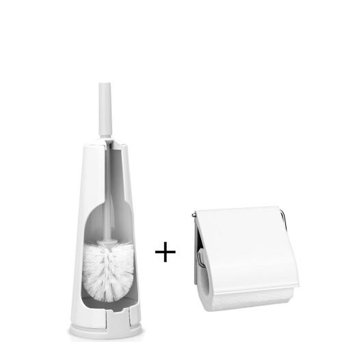 Brabantia Brabantia szczotka do WC i uchwyt na papier