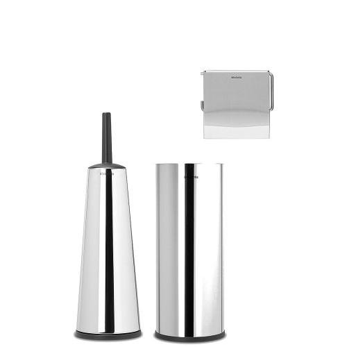Brabantia ReNew Akcesoria toaletowe, 3 elementy
