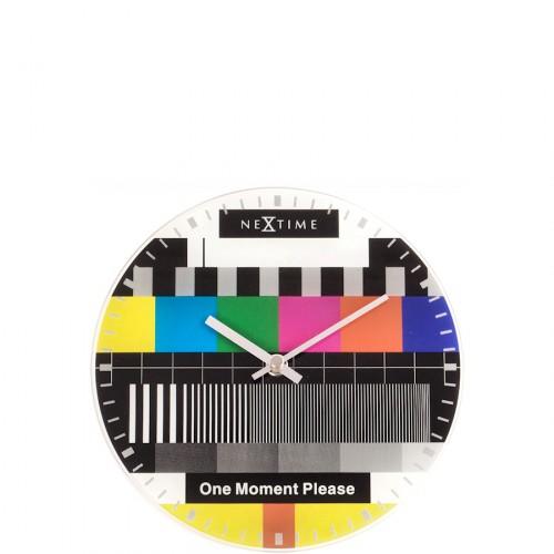 NeXtime Little Testpage zegar ścienny lub stojący