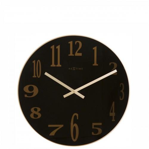 NeXtime Mirror Glass zegar ścienny