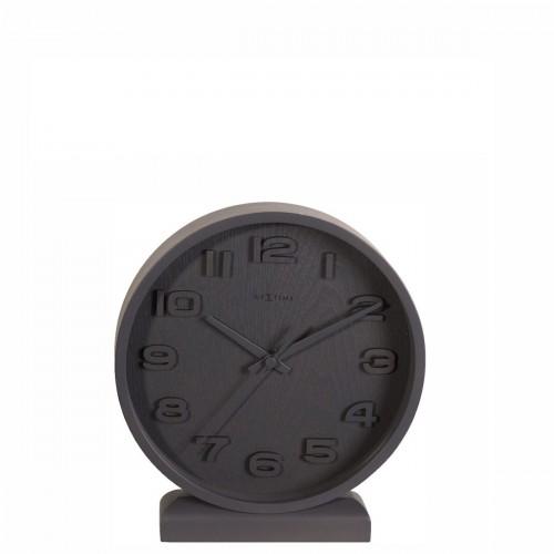 NeXtime Wood Wood Small zegar stołowy