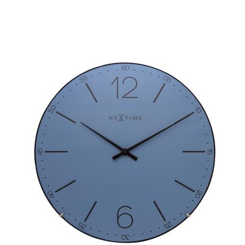 NeXtime Index Dome zegar ścienny