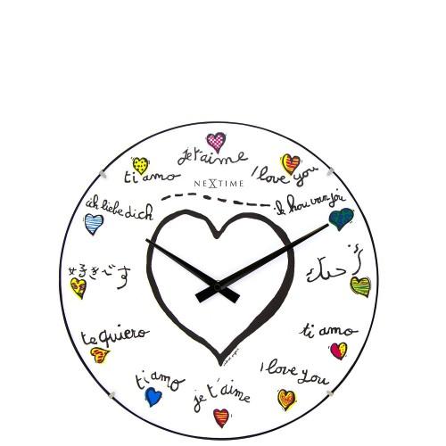NeXtime Loving You Dome zegar ścienny