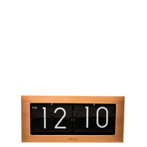 NeXtime Big Flip zegar ścienny