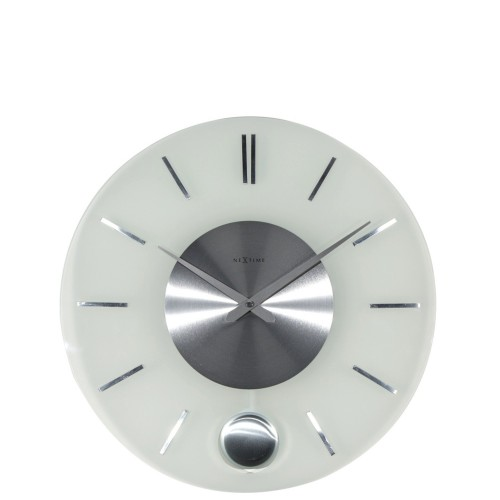 NeXtime Stripe Pendulum Zegar ścienny z wahadłem