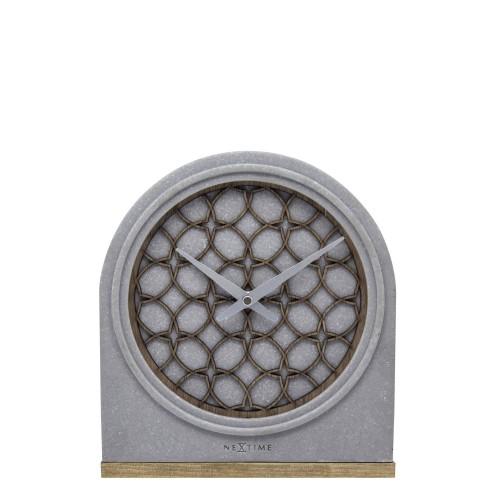 NeXtime Concrete Love Table zegar stołowy